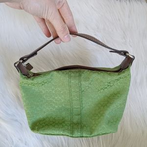 COACH Green Mini Bag